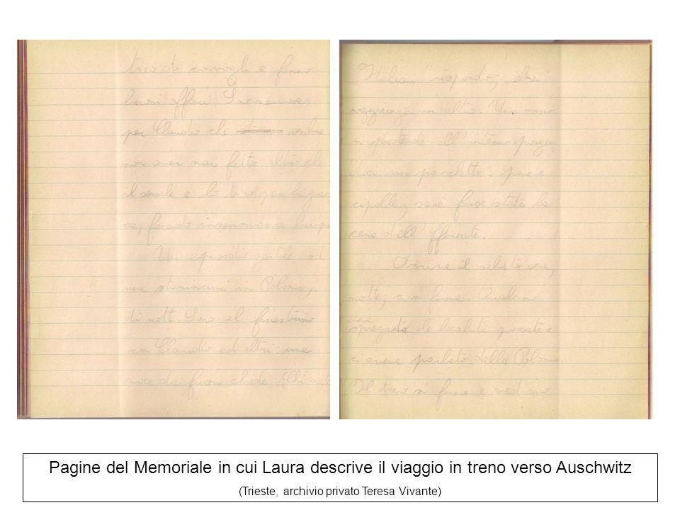 (Trieste, archivio privato Teresa Vivante)