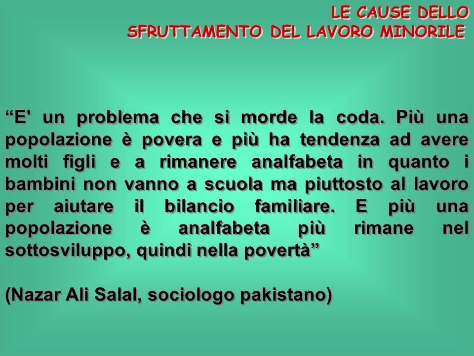 (Nazar Ali Salal, sociologo pakistano)