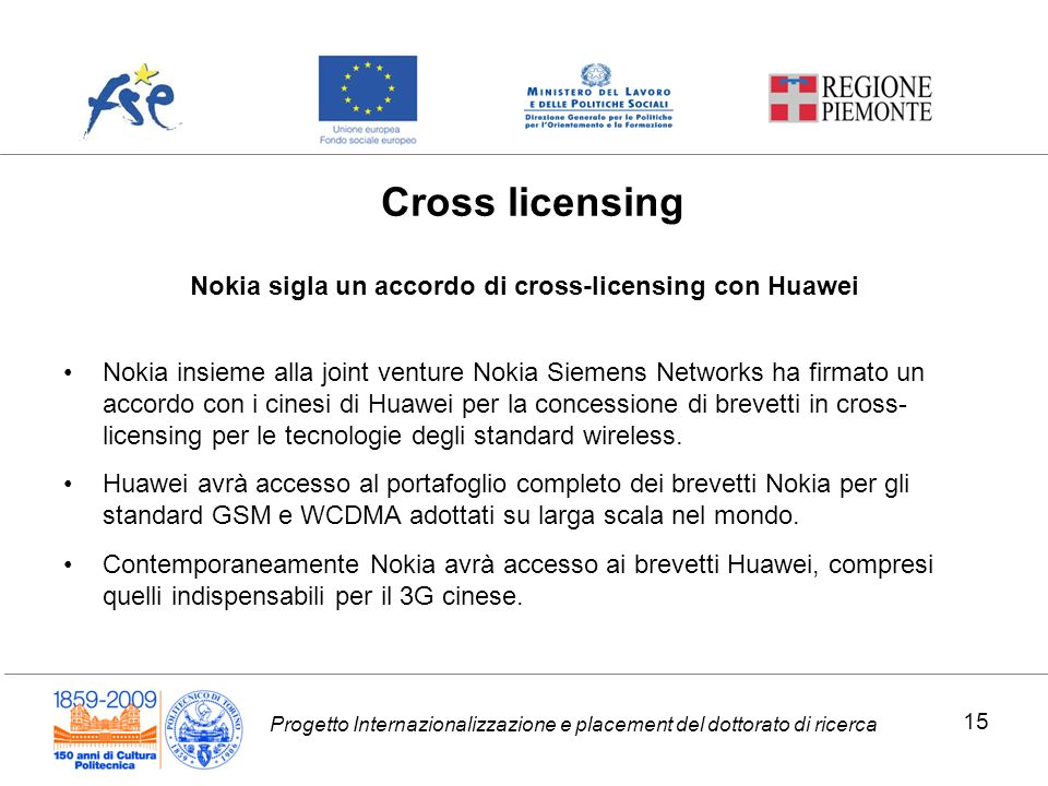 Nokia sigla un accordo di cross-licensing con Huawei