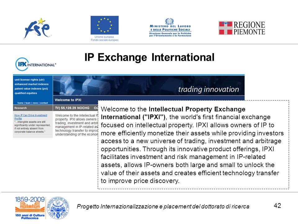 IP Exchange International