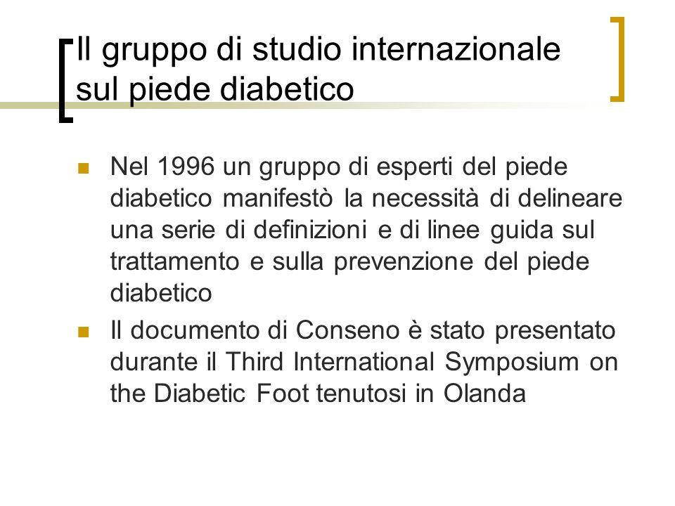 Il gruppo di studio internazionale sul piede diabetico