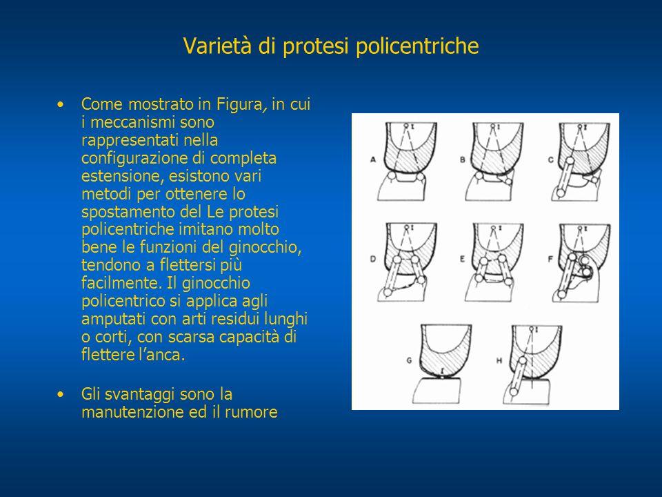Varietà di protesi policentriche