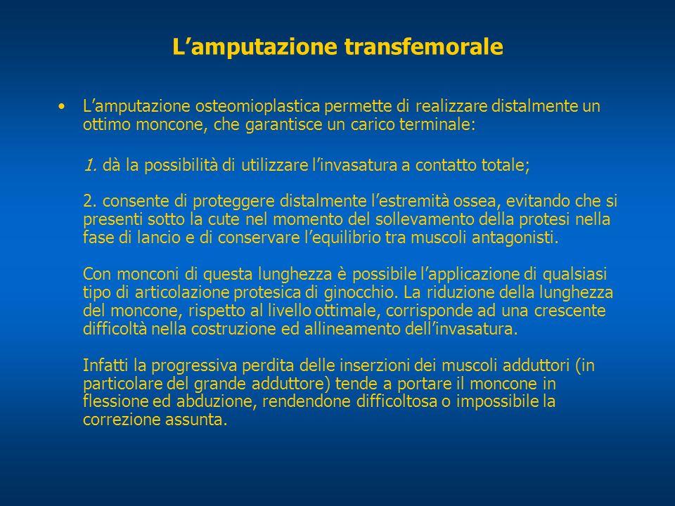 L'amputazione transfemorale