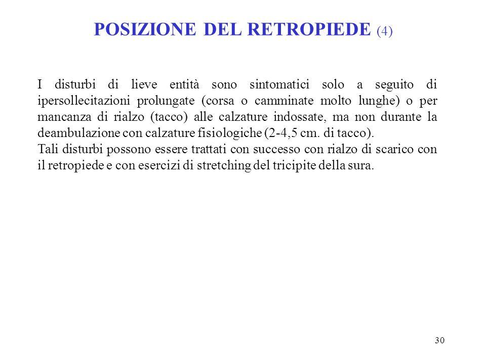 POSIZIONE DEL RETROPIEDE (4)