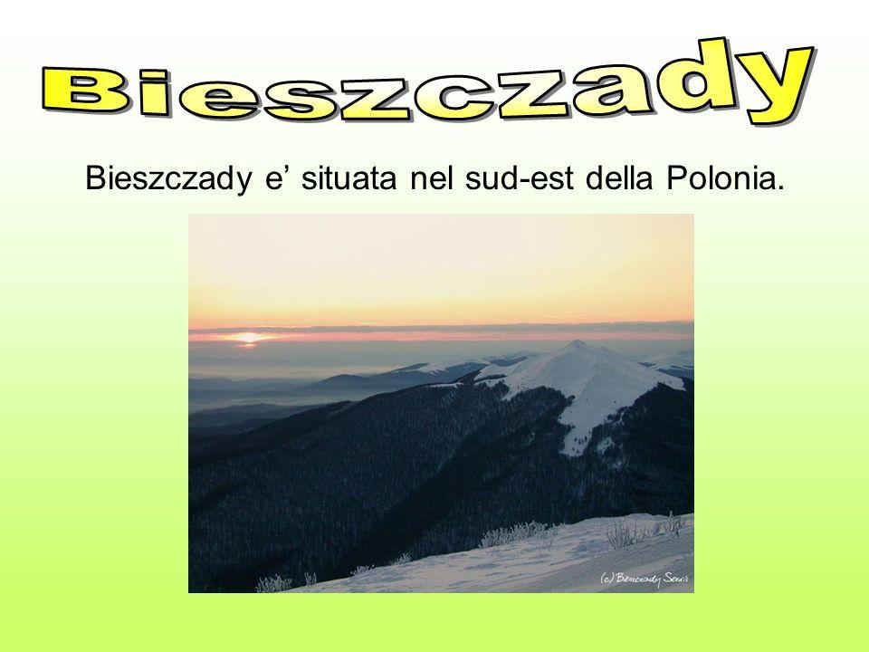 Bieszczady Bieszczady e' situata nel sud-est della Polonia.
