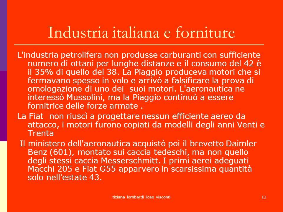 Industria italiana e forniture