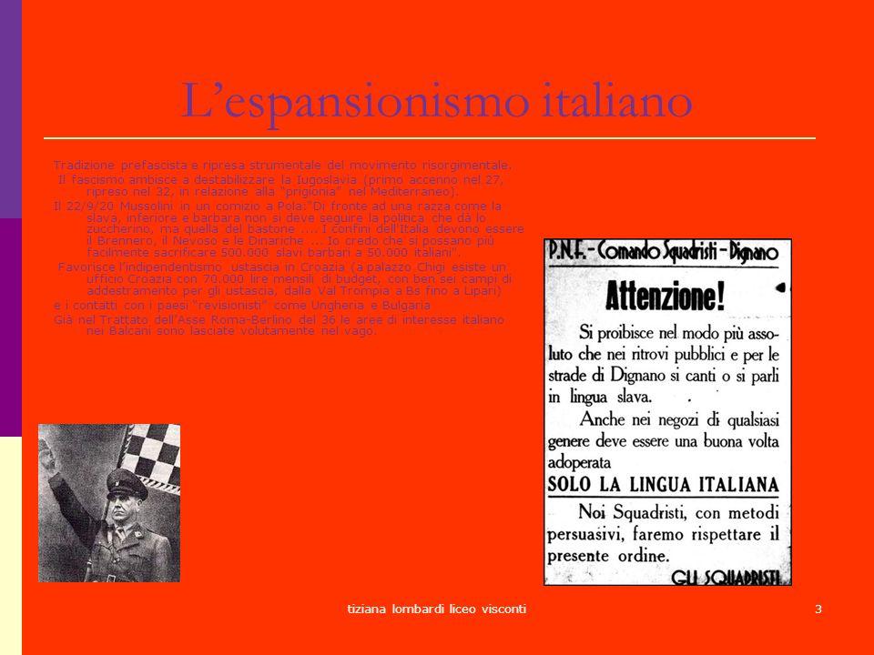 L'espansionismo italiano