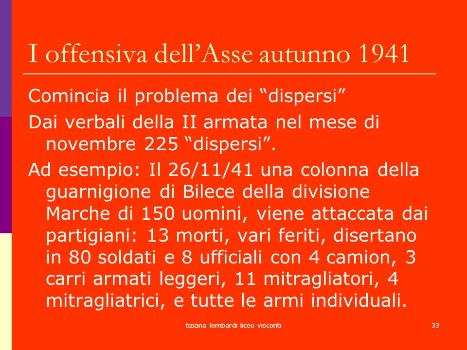 I offensiva dell'Asse autunno 1941