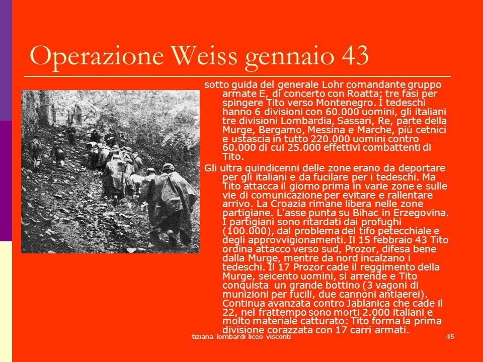 Operazione Weiss gennaio 43