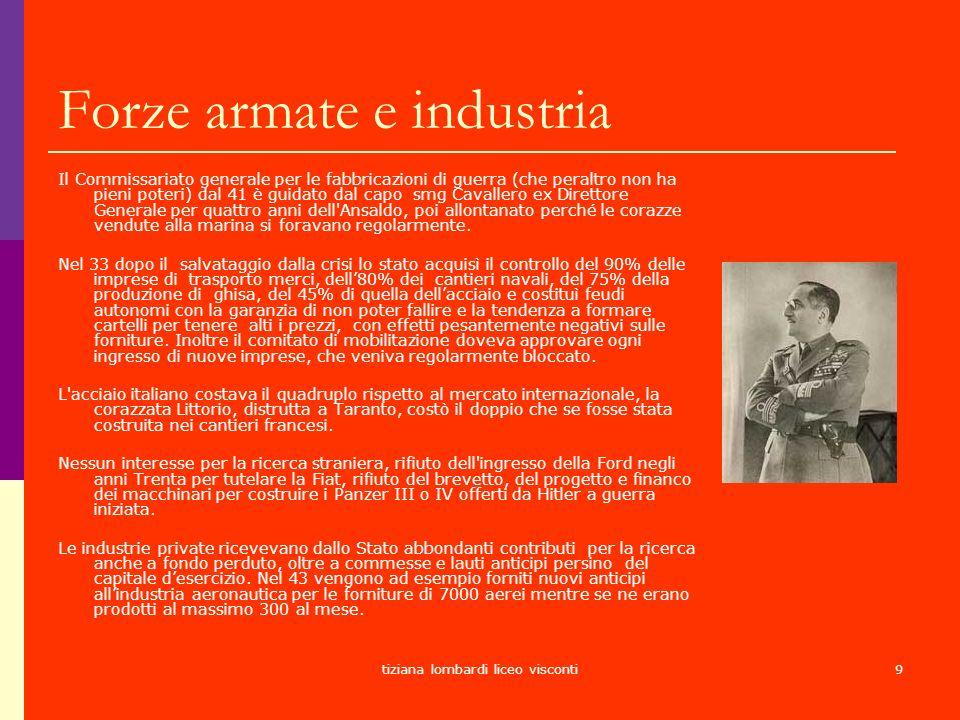 Forze armate e industria