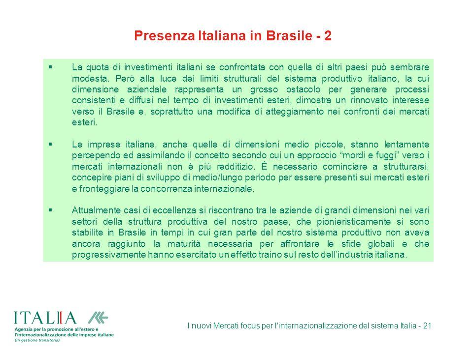 Presenza Italiana in Brasile - 2