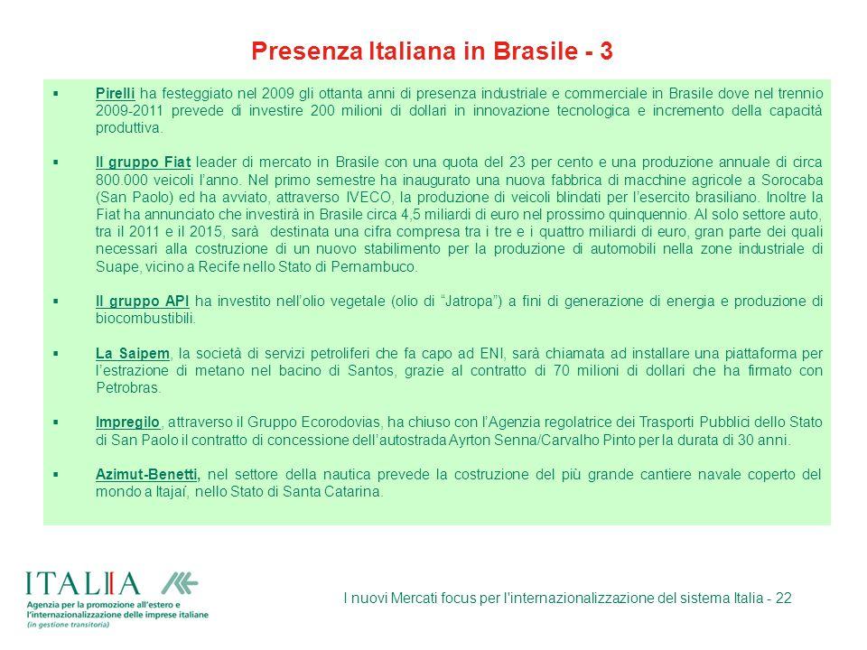 Presenza Italiana in Brasile - 3