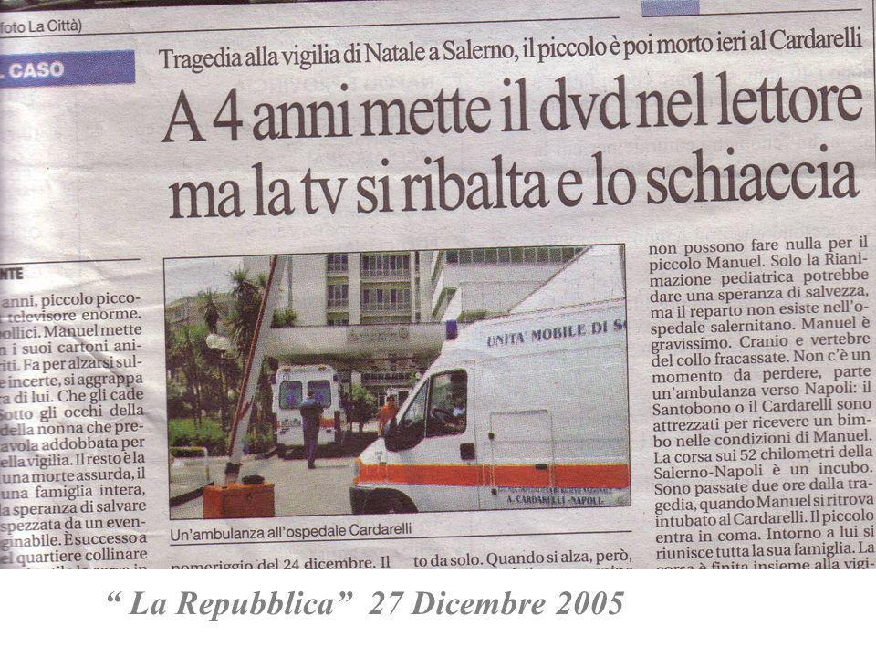 La Repubblica 27 Dicembre 2005