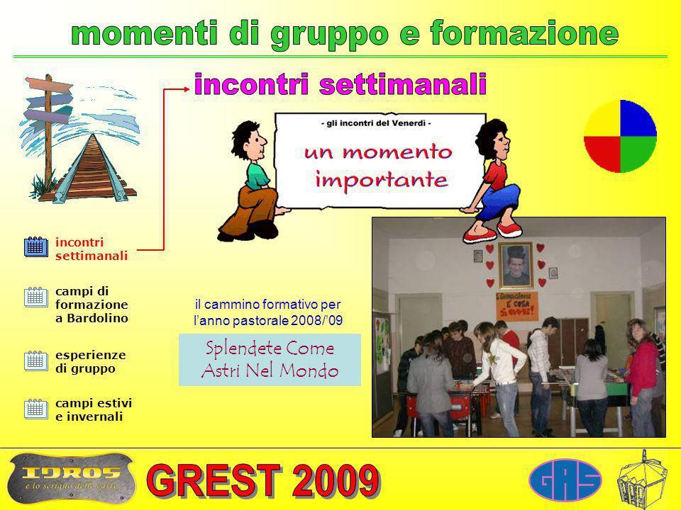 momenti di gruppo e formazione