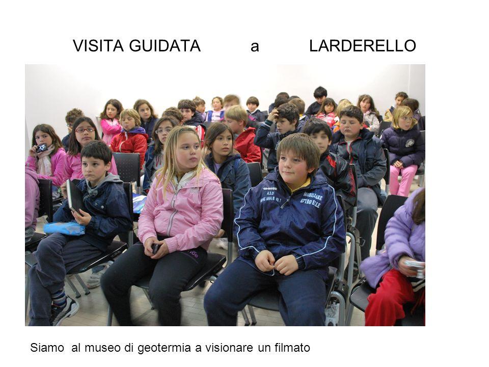 VISITA GUIDATA a LARDERELLO