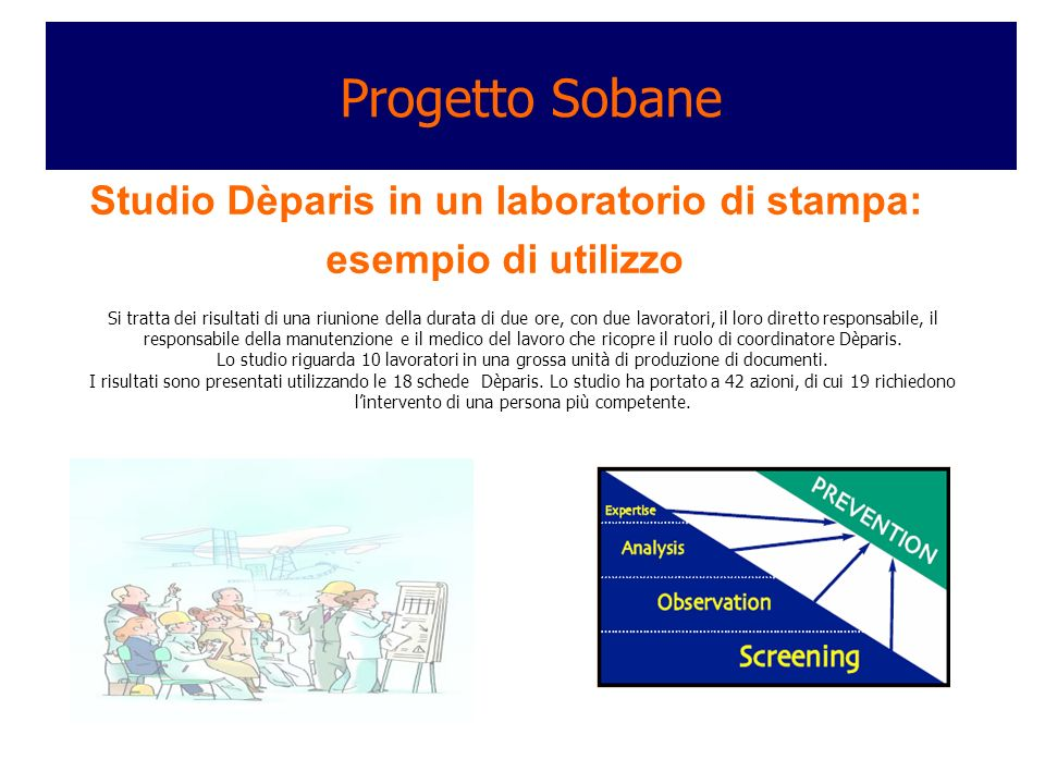Progetto Sobane Studio Dèparis in un laboratorio di stampa: