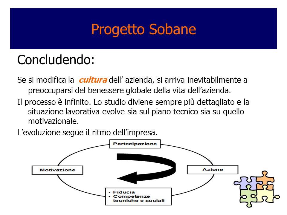 Progetto Sobane Concludendo: