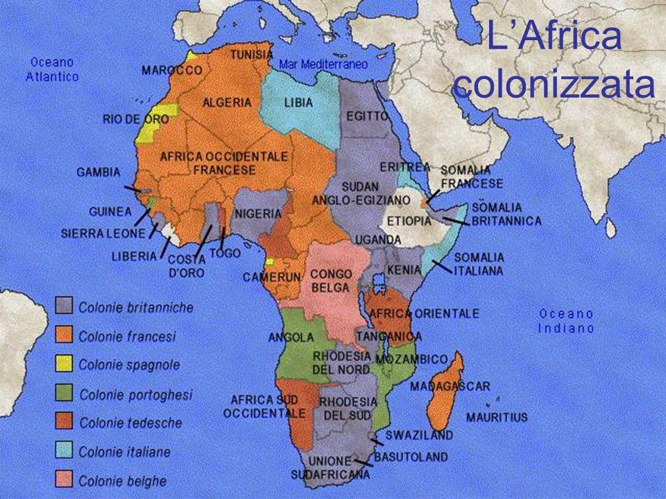 L'Africa colonizzata 8