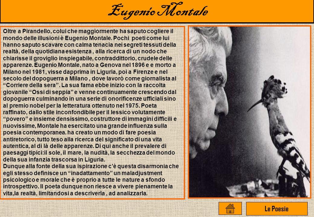 Eugenio Montale Le Poesie
