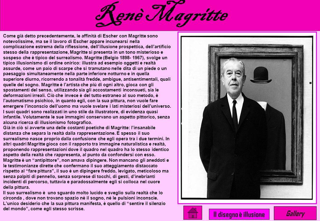 Renè Magritte Gallery Il disegno è illusione