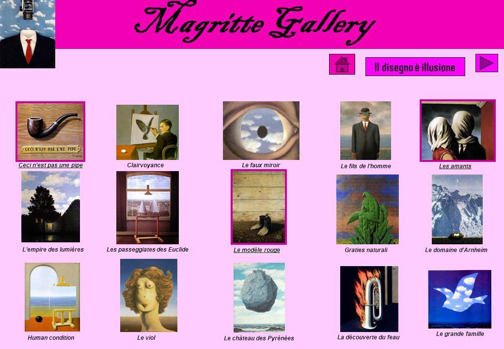 Magritte Gallery Il disegno è illusione Ceci n'est pas une pipe