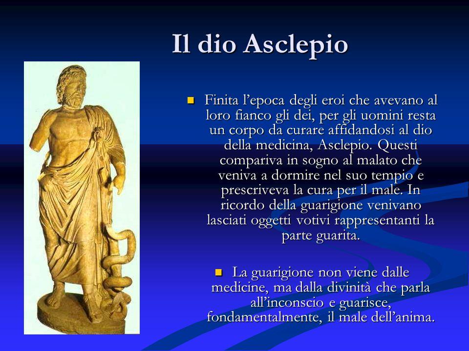 Il dio Asclepio