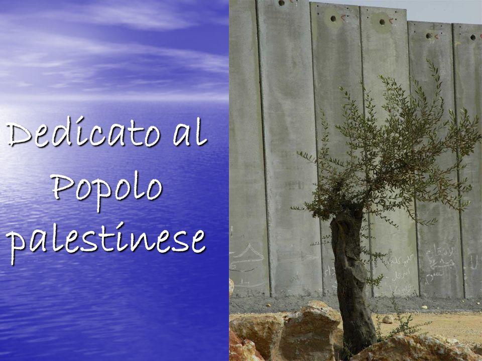 Dedicato al Popolo palestinese
