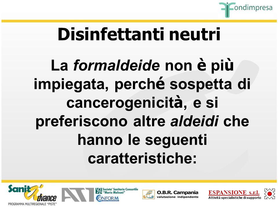 Disinfettanti neutri