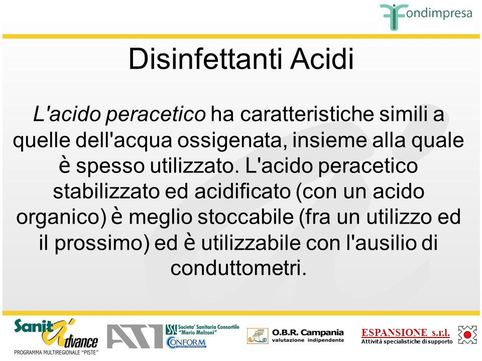 Disinfettanti Acidi