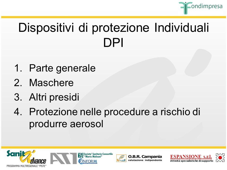 Dispositivi di protezione Individuali DPI