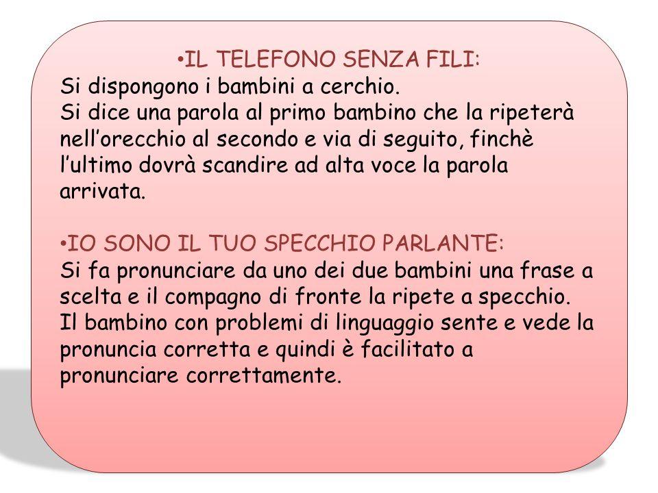 IL TELEFONO SENZA FILI: