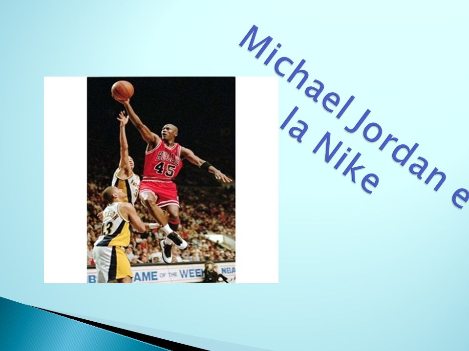 Michael Jordan e la Nike