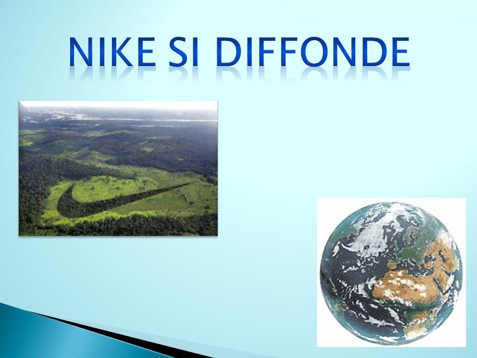 Nike si diffonde