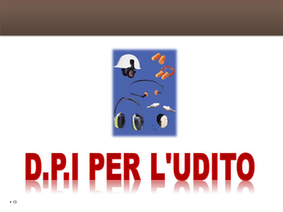 D.P.I per L udito  19