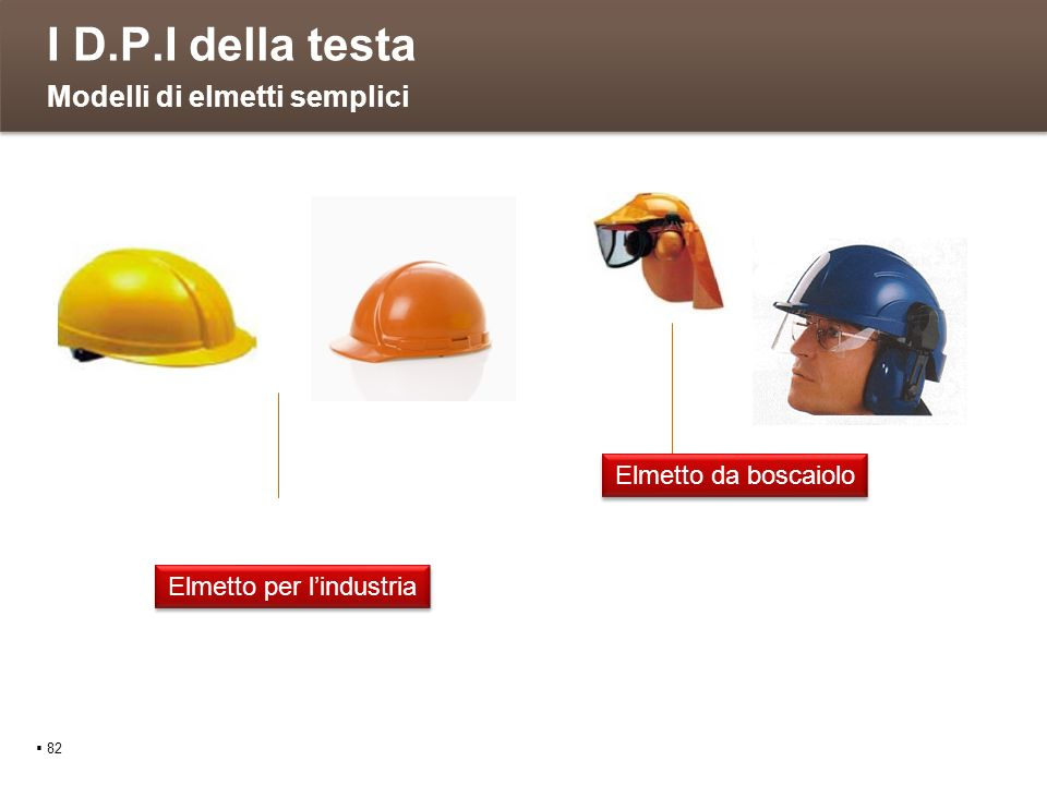 Elmetto per l'industria