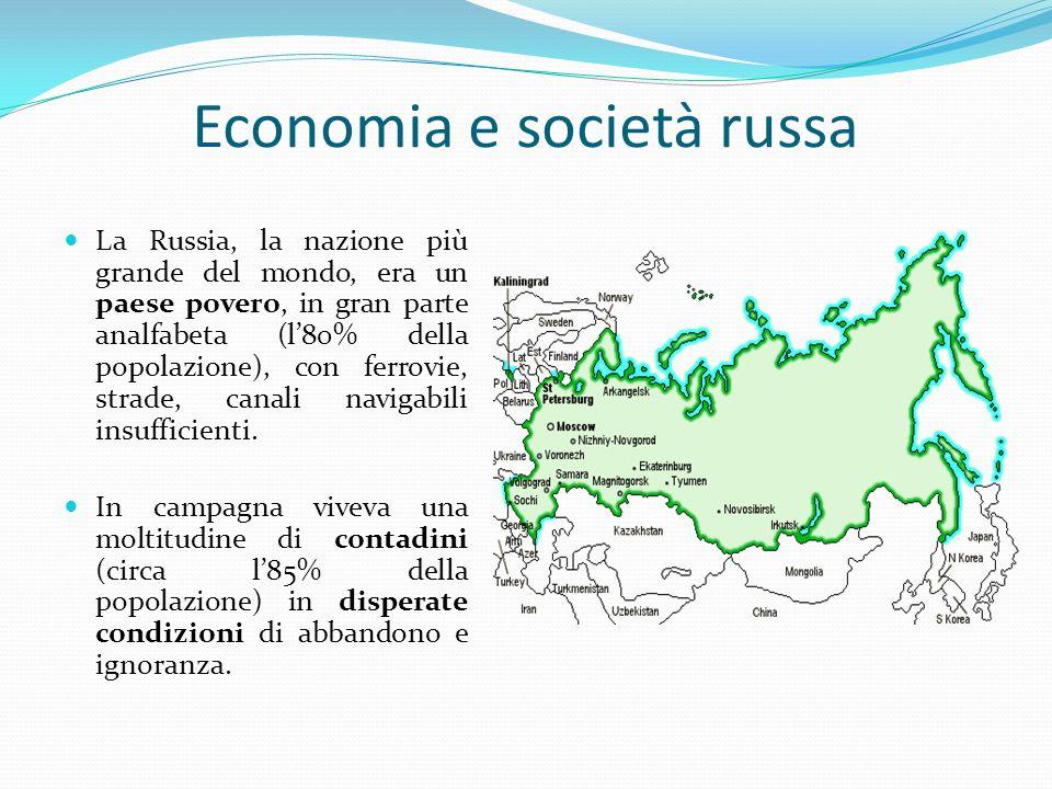 Economia e società russa