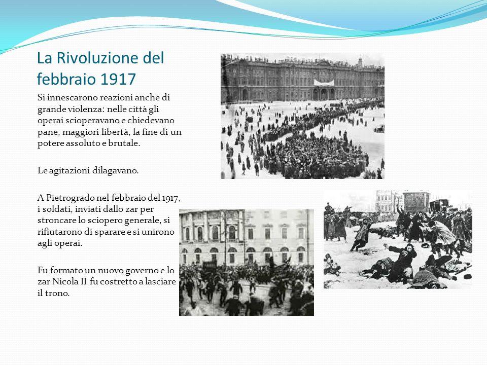 La Rivoluzione del febbraio 1917