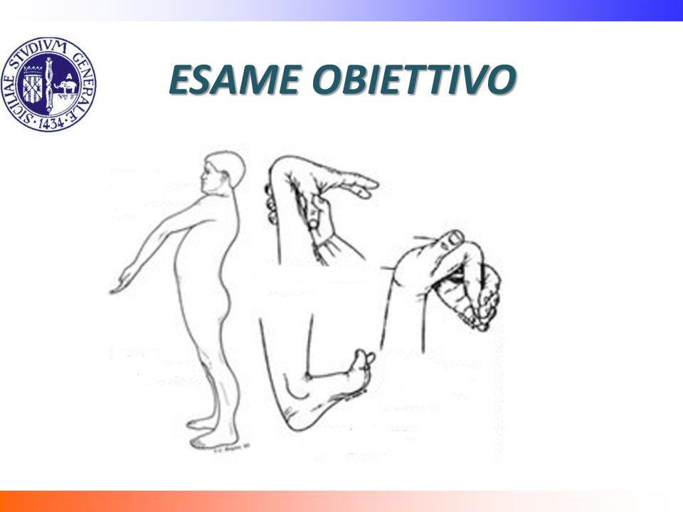 ESAME OBIETTIVO Prove si lassita ligamentosa:
