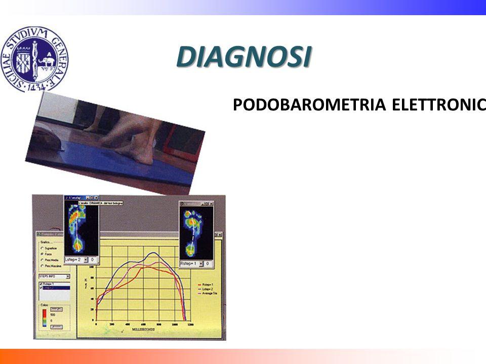 DIAGNOSI PODOBAROMETRIA ELETTRONICA