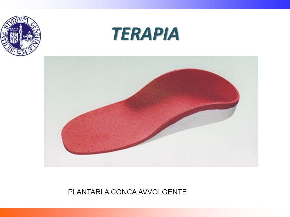 TERAPIA PLANTARI A CONCA AVVOLGENTE