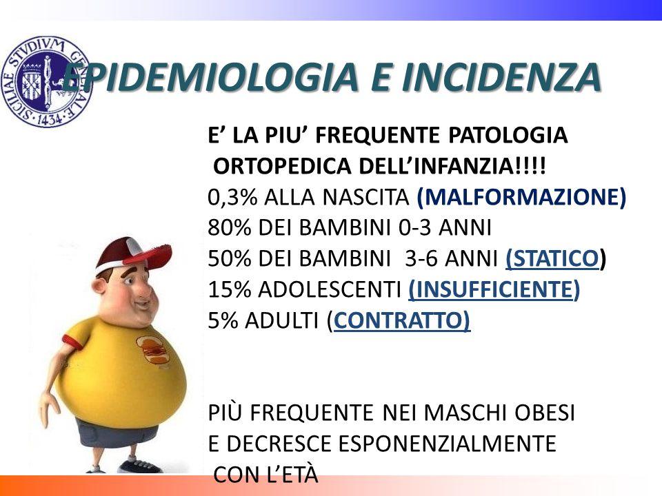 EPIDEMIOLOGIA E INCIDENZA