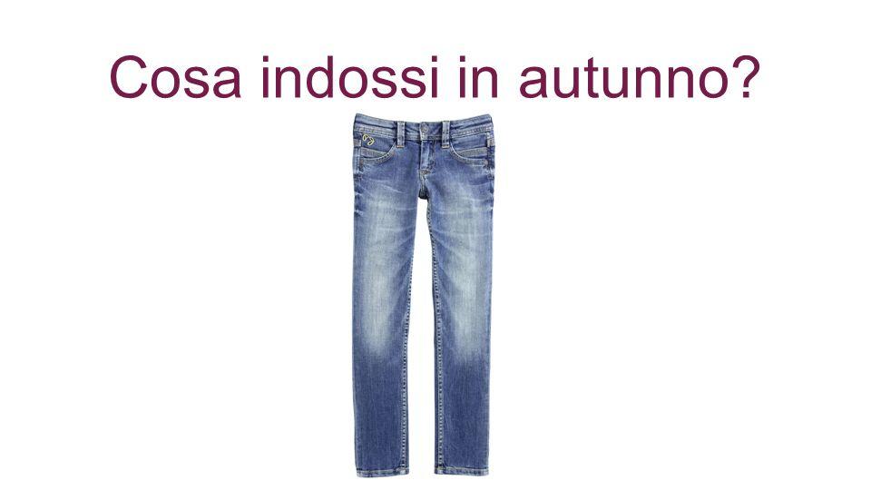 Cosa indossi in autunno