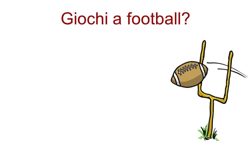 Giochi a football