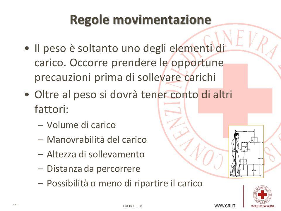 Regole movimentazione