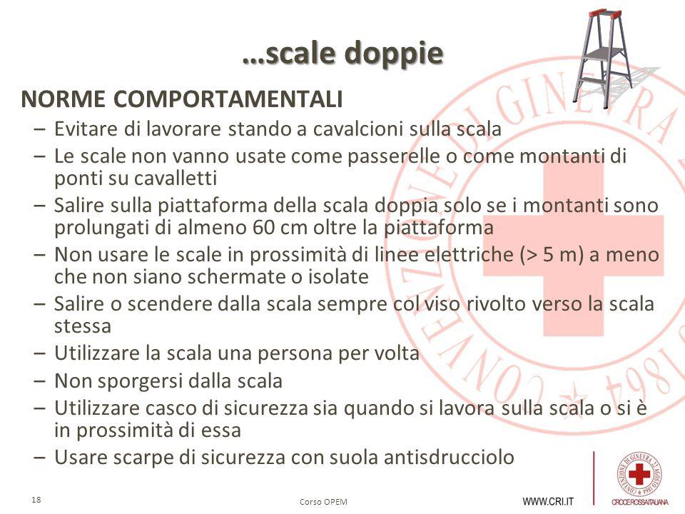 …scale doppie NORME COMPORTAMENTALI