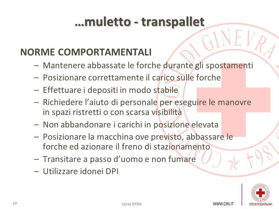 …muletto - transpallet