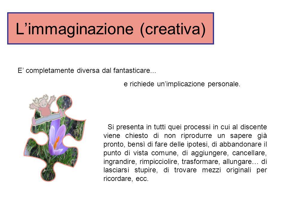 L'immaginazione (creativa)