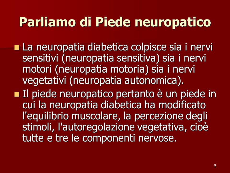 Parliamo di Piede neuropatico