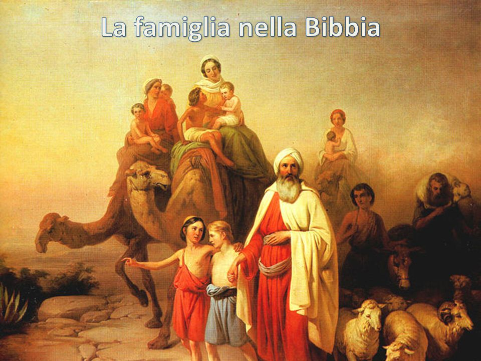 La famiglia nella Bibbia