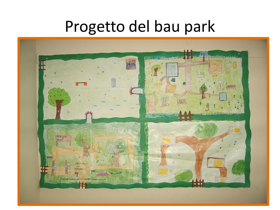 Progetto del bau park